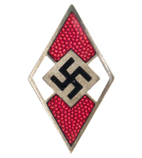 Hitlerjugend (HJ) - Mitgliedsabzeichen RZM M114
