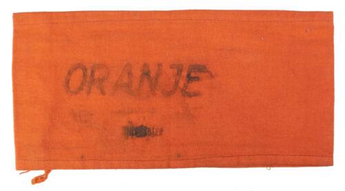 (NBS) Nederlandsche Binnenlandsche Strijdkrachten Oranje Armband