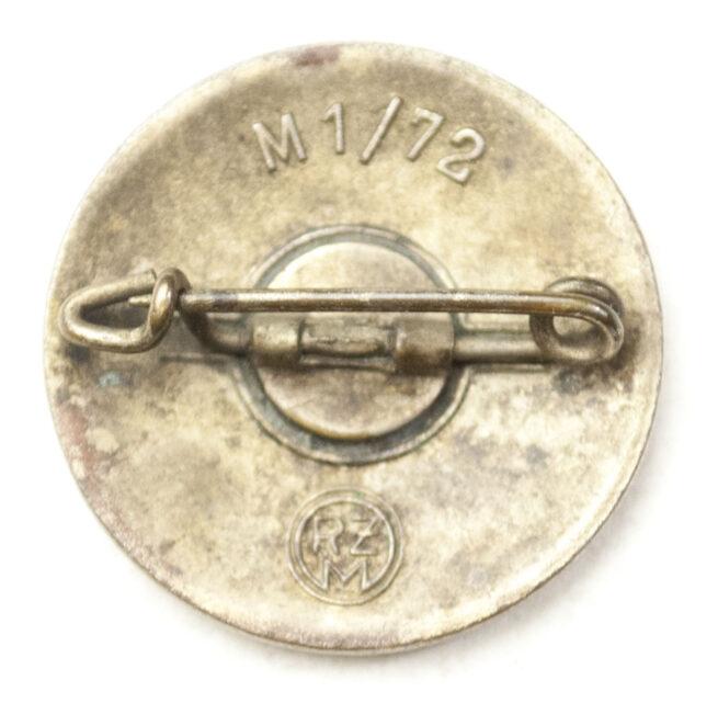 NSDAP Parteiabzeichen M172 (Fritz Zimmermann)