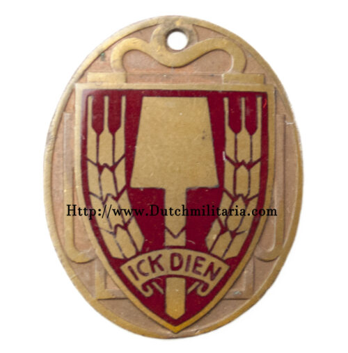 Nederlandsche Arbeidsdienst (NAD) Ick Dien Hanger (RARE!)