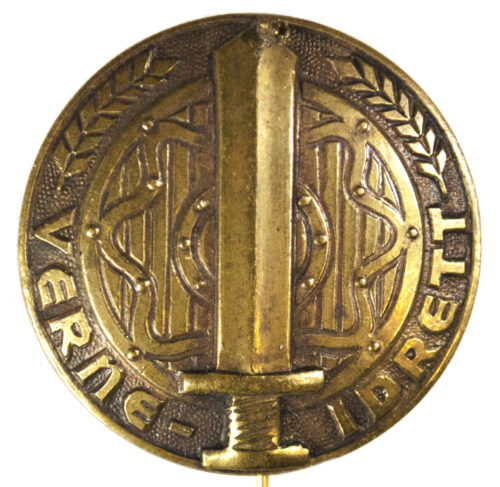 (Norway) Hirden Verne-Idrett Military sportsbadge in bronze