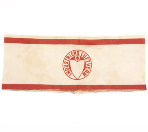 (Norway) Industriens Luftvern armband 1940-1945 (air raid protection)