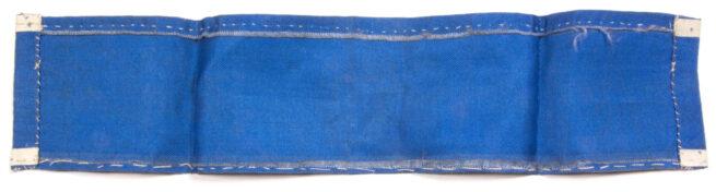(Norway) Industriens Luftvern armband 1940-1945 (air raid protection - Blue)