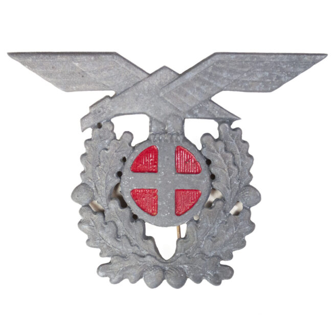 (Norway) Politiets Police cap badge (Large!)