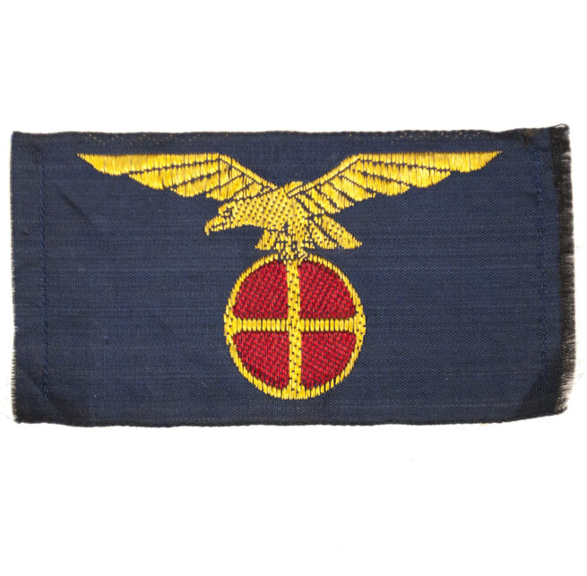 (Norwegen) Nasjonal Samling blue cloth emblem