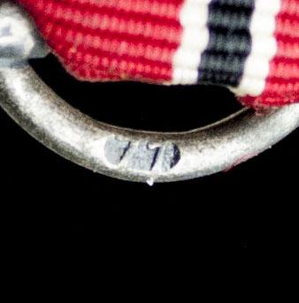 Ostmedaille Ostmedal maker 77 (Bayrisches Hauptmunzamt München)