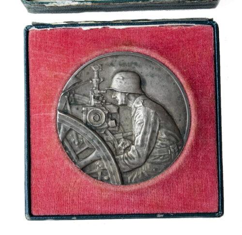 Pack Geschütz Preisrichten 1926 medal in silver (in case)