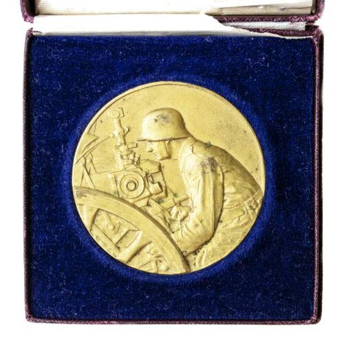 Pak-Geschütz-Preisrichten-1927-medal-in-gold-in-case