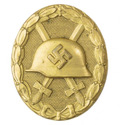 Verwundeten Abzeichen in Gold Gold Woundbadge (maker Hauptmunzamt Wien)