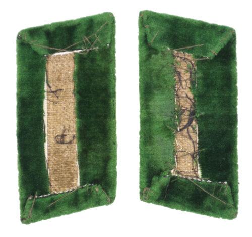 WW2 German Reichsarbeitsdienst (RAD) Administration Officer collar tabs