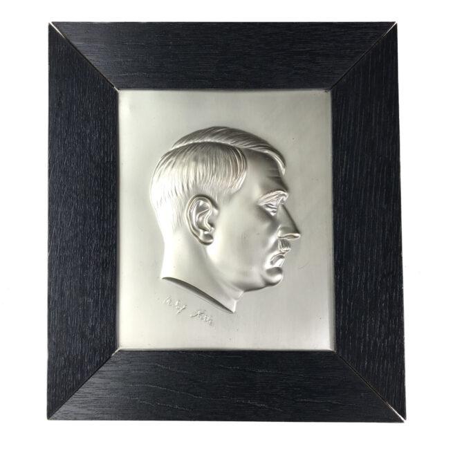 Adolf Hitler plaque + Citation from Münster