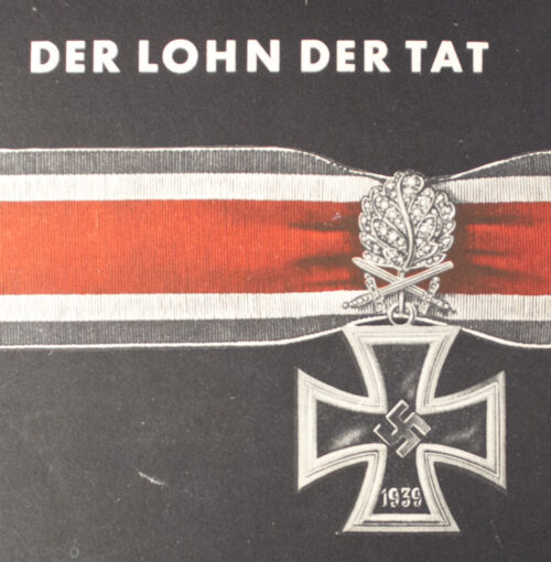 (Book) Der Lohn der Tat (rare!)
