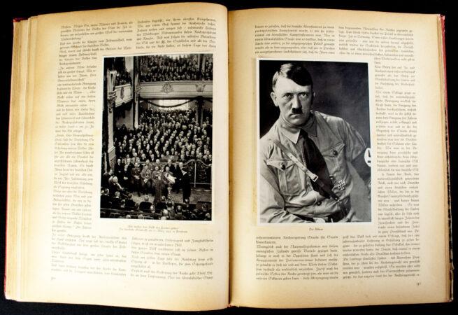 """(Book) Deutschland Erwacht. Werden, Kampf und Sieg der NSDAP. First """"red"""" Edition"""