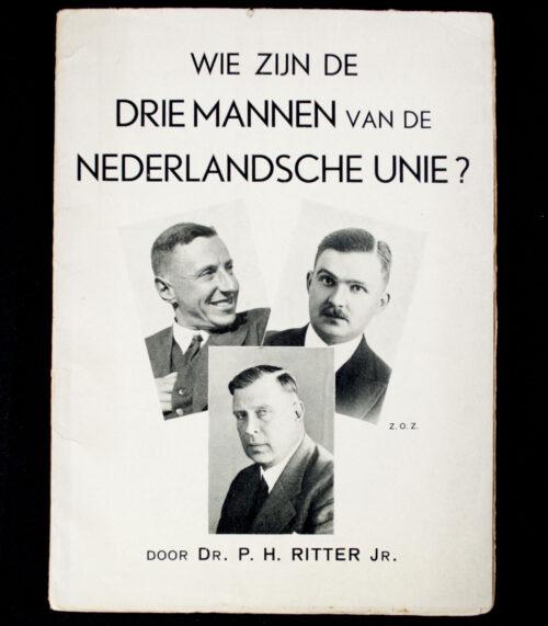 (Brochure) Wie zijn de drie mannen van de Nederlandsche Unie