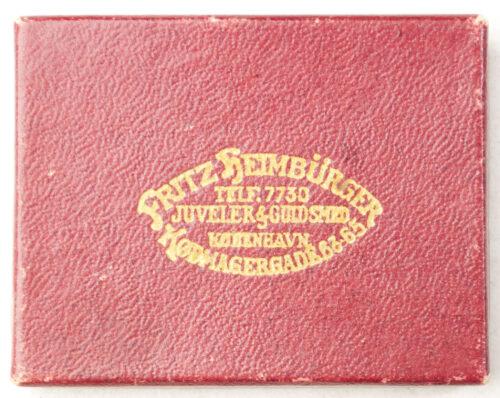 (Denmark) N.S.D.A.P.N. memberbadge in Fritz Heimbürger case (!)