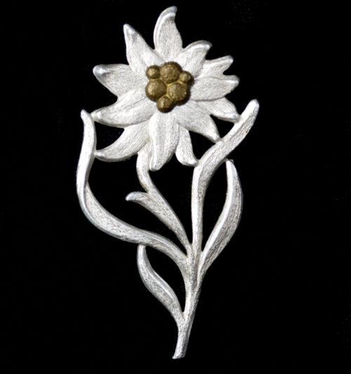 Edelweiss cap badge Gruppe Hochland