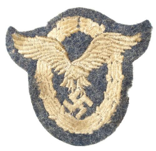 Flugzeugführerabzeichen der Luftwaffe in Stoffversion