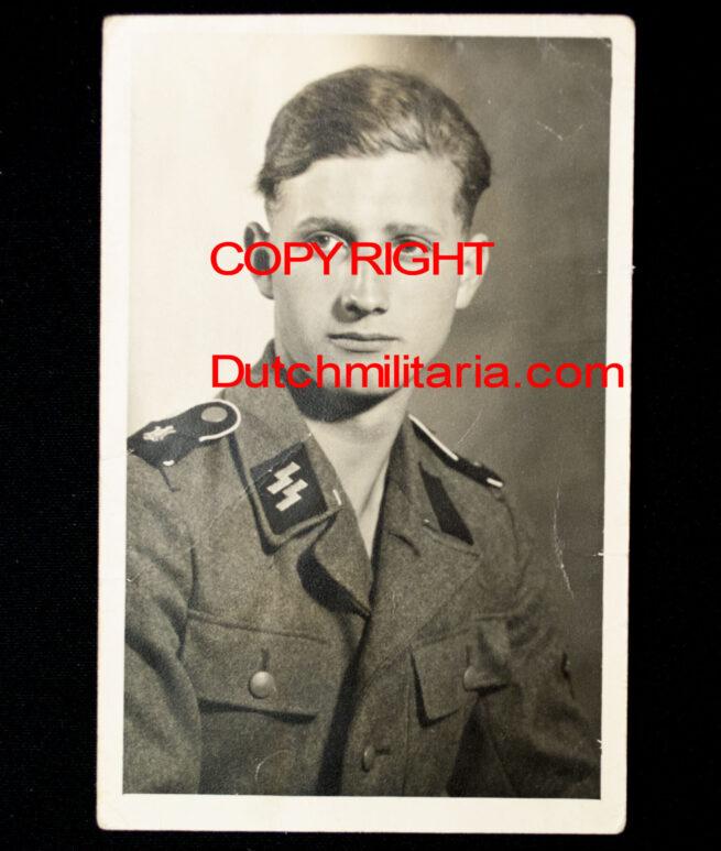 Leibstandarte SS Adolf Hitler (LSSAH) portrait photo in postcard size