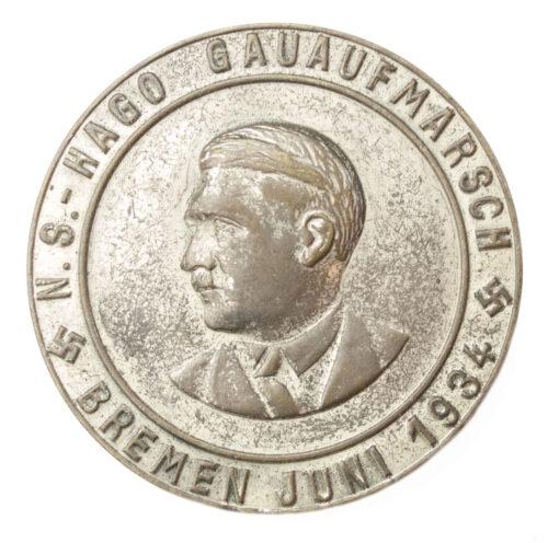N.S.-Hago Gauaufmarsch Bremen Juni 1934
