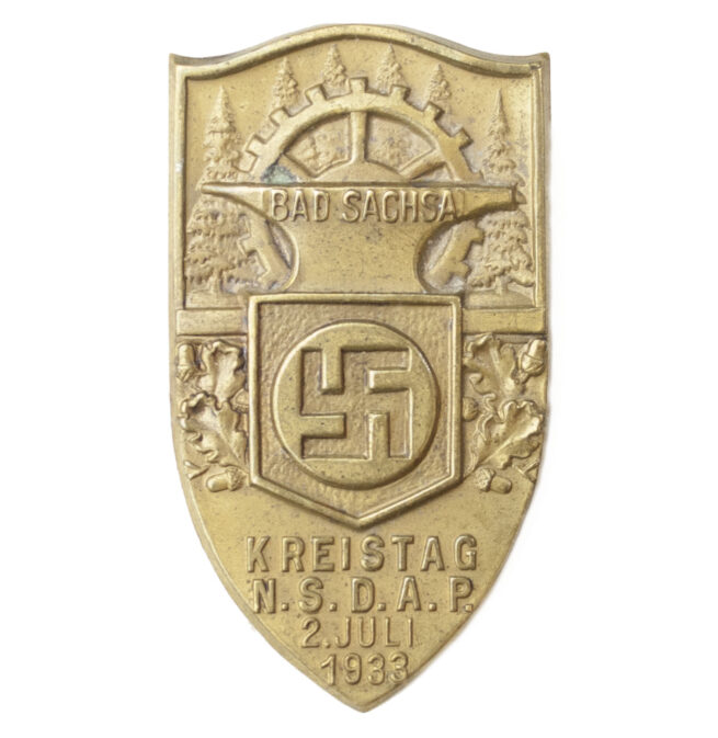 N.S.D.A.P Kreistag Bad Sachsa 2. Juli 1933