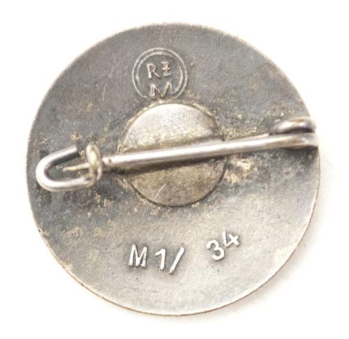 NSDAP Parteiabzeichen M134 (Karl Wurster)