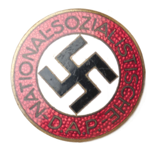 NSDAP Parteiabzeichen M166 (Fritz Kohm)
