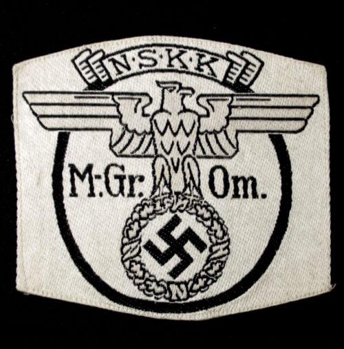 NSKK Motorgruppe Ostmark sportshirt emblem (with RZM tag)