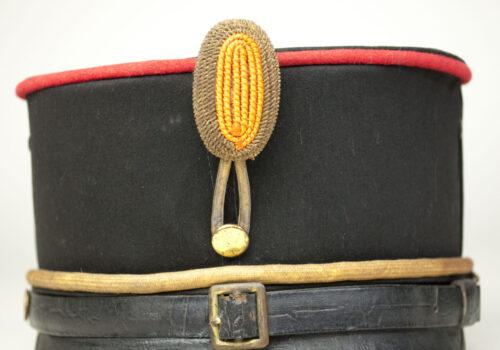 Nederlandse Kepie Model 1897 Subalterne Officier