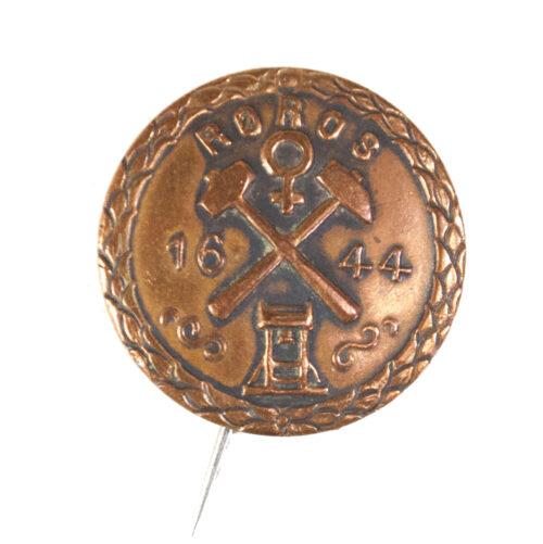 (Norway) Roros 1644 badge (1944)