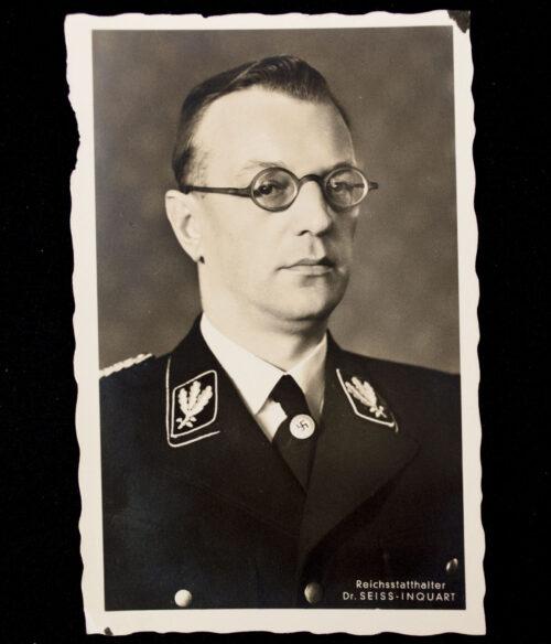 (PostcardPhoto) Reichsstatthalter Dr. Seiss-Inquart