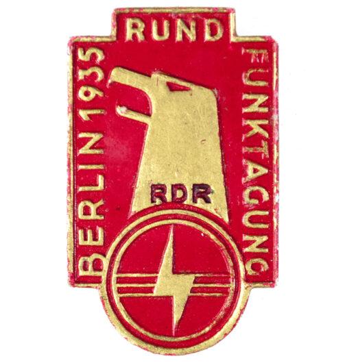 RDR - Rundfunktagung Berlin 1935