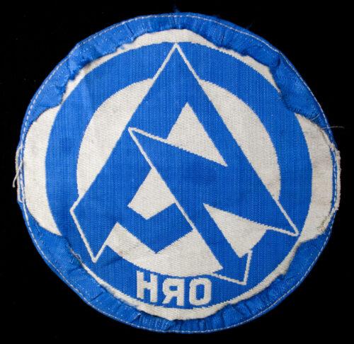 SA Sportshirt emblem from Gruppe Ober-Rhein