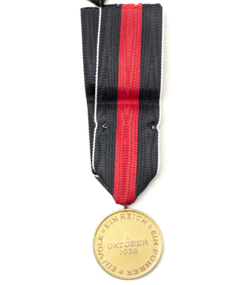 Sudetenland Annexation medal