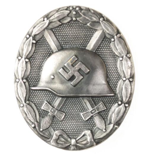 Verwundetenabzeichen in Silber (buntmetal) Woundbadge silver