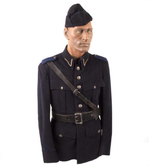 WWII Dutch Police Tunic Nederlandse Politie Uniform (1941)
