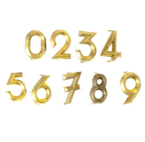 WWII Nederlandsche Arbeidsdienst (NAD) Shoulderboard numbers