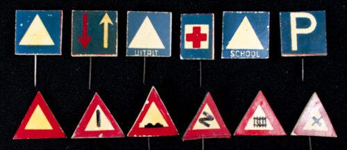 Winterhulp Nederland (WHN) - Verkeersborden (1941)