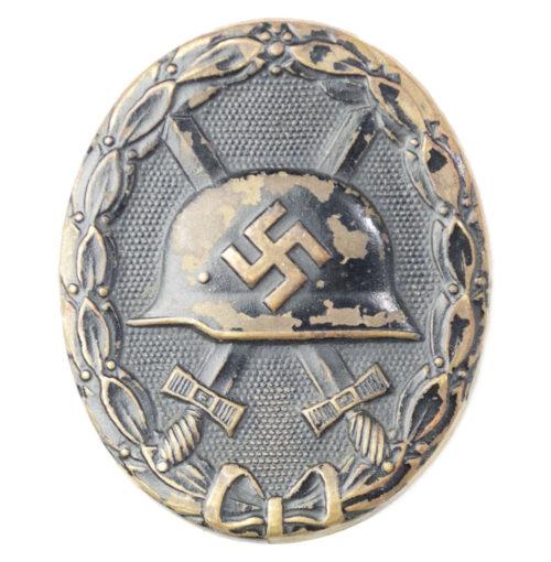 Woundbadge in black Verwundetenabzeichen Schwarz