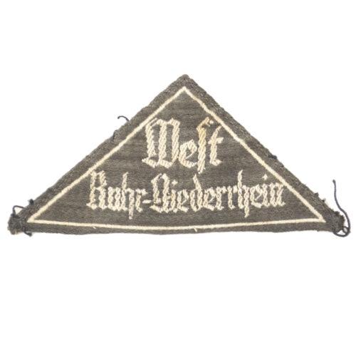 Bund Deutsche Mädel (BDM) Gebietsdreieck Ruhr Niederrhein