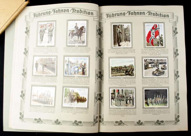 Die Deutsche Wehrmacht sammelalbum (1936) + Schuber