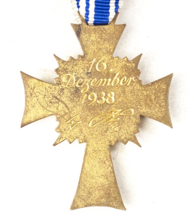 Mutterkreuz Motherscross in gold