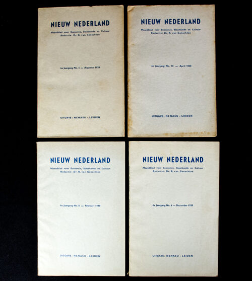 (NSB) Magazine Nieuw Nederland 1936 - 7 editions