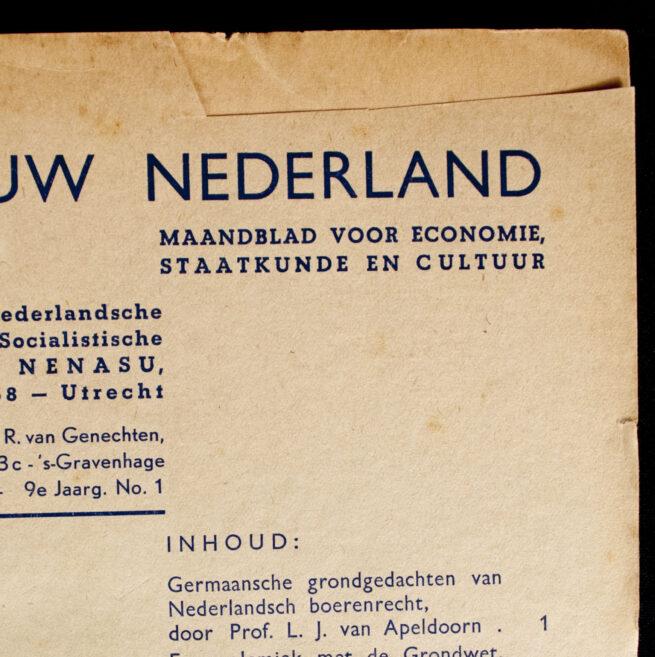 (NSB) Magazine Nieuw Nederland 19411942 - 4 editions