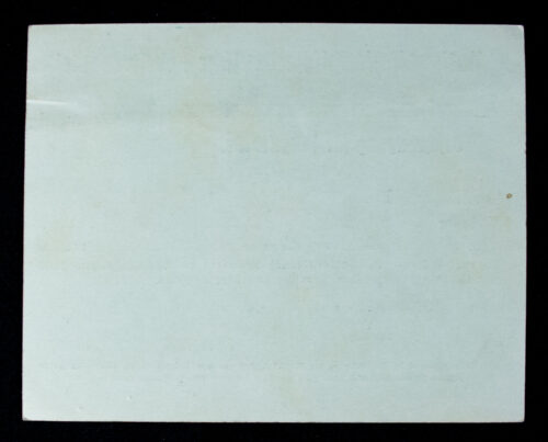 NSDAP Mitgliedskarte 1938 NSDAP membercard from Ried i.J. Nord O.D. (1938)