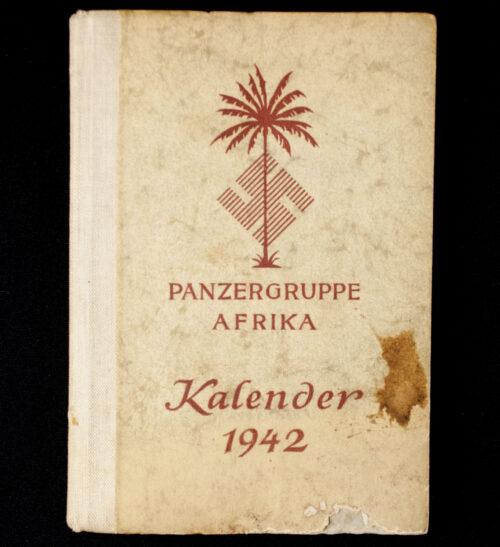 Panzergruppe Afrika Kalender 1942