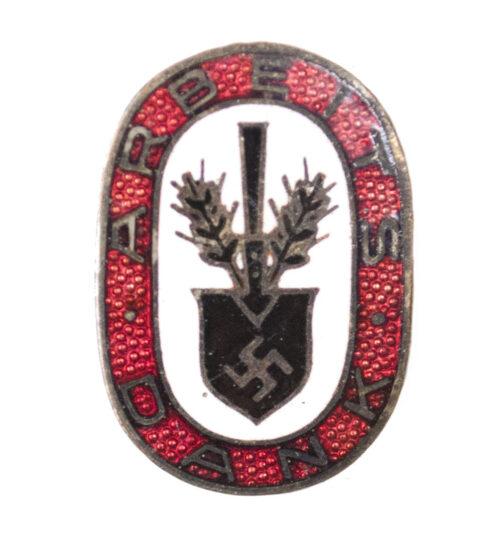 (RAD) Reichsarbeitsdienst – Arbeitsdank badge