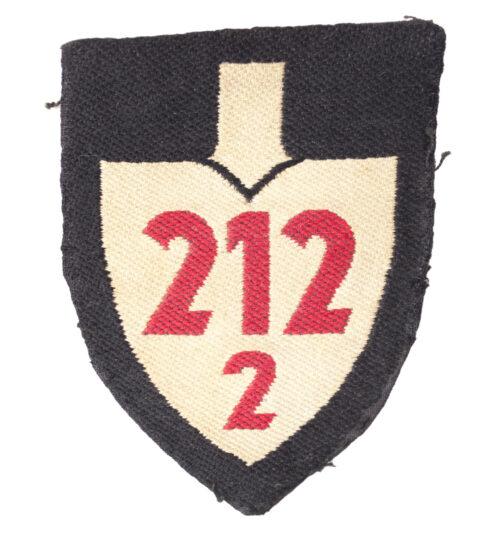Reichsarbeitsdienst (RAD) shoulder unit patch 2122