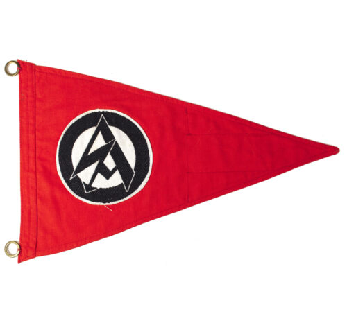 SA pennant with RZM paper label
