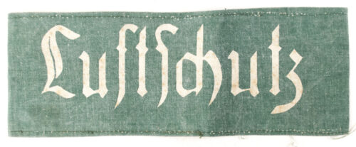 WWII German Luftschutz armband in green