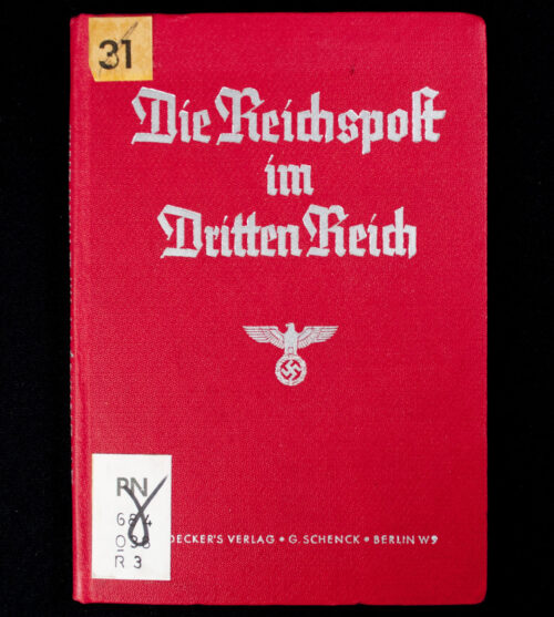 (Book) Die reichspost im Dritten Reich (1937)